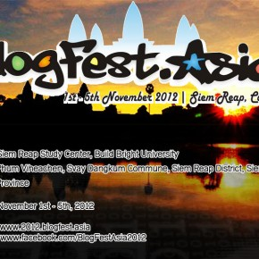 I'm Coming to Blogfest Asia 2012 in Cambodia