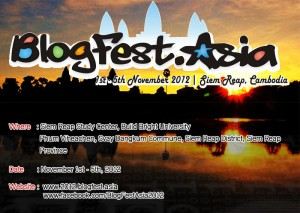 Blogfest Asia 2012 Poster