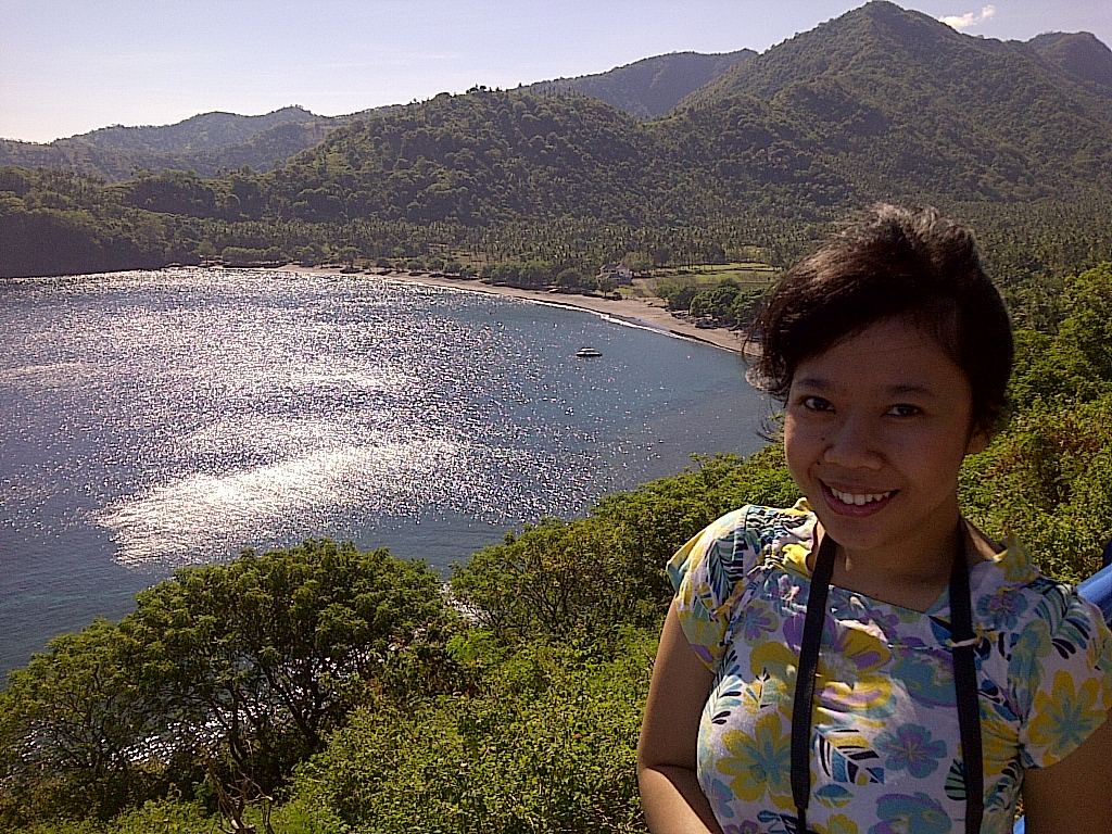 At Malimbu Hill, Lombok
